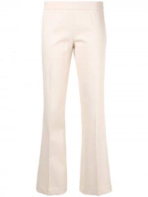 Расклешенные брюки Giambattista Valli. Цвет: нейтральные цвета