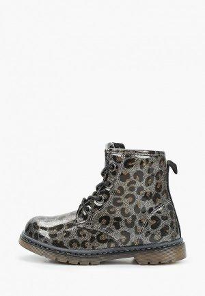 Ботинки Beppi. Цвет: хаки