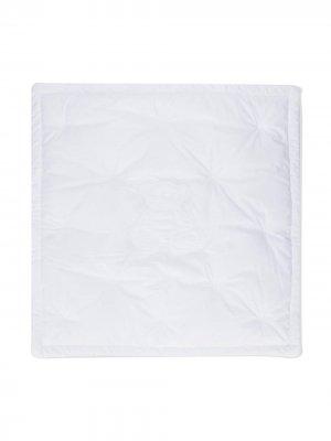 Одеяло с вышивкой Givenchy Kids. Цвет: белый