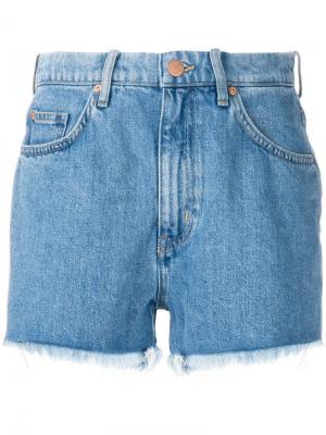 Джинсовые шорты Halsy Mih Jeans. Цвет: синий