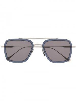 Солнцезащитные очки Flight 006 Dita Eyewear. Цвет: серебристый