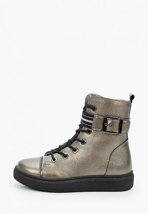 Ботинки Котофей. Цвет: зеленый