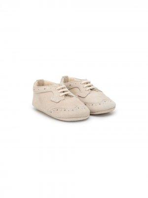 Броги на шнуровке Le Bebé Enfant. Цвет: нейтральные цвета