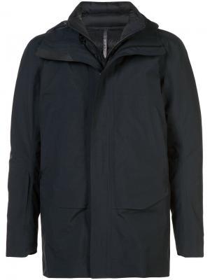 Куртка с капюшоном Arcteryx Veilance Arc'teryx. Цвет: чёрный