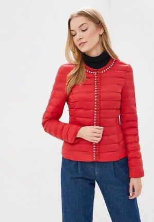 Куртка утепленная Softy. Цвет: красный
