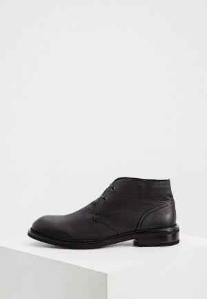 Ботинки A.Testoni. Цвет: черный