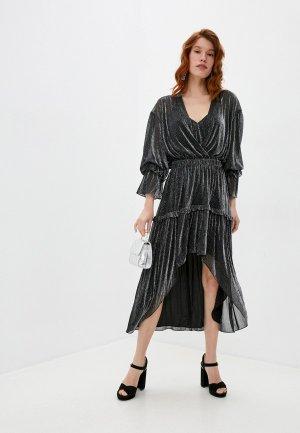 Платье Iro. Цвет: серебряный