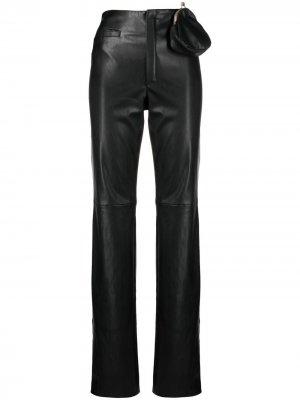 Прямые брюки с завышенной талией Seen Users. Цвет: черный