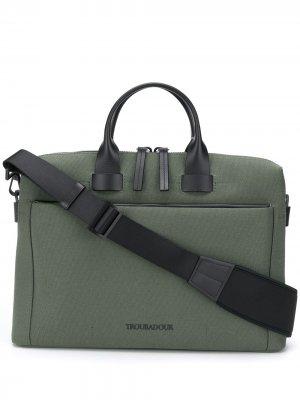 Портфель Pathfinder Slim Troubadour. Цвет: зеленый