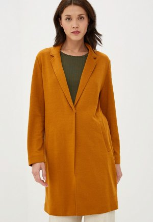Пальто Marks & Spencer. Цвет: коричневый
