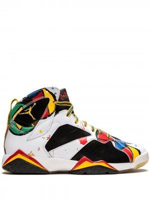 Кроссовки Air  7 Retro OC Jordan. Цвет: белый