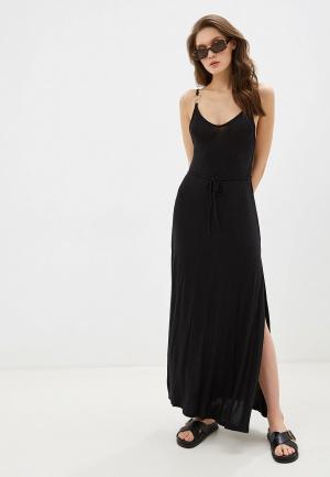Платье пляжное Beach Bunny. Цвет: черный