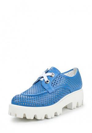 Ботинки Vitacci. Цвет: голубой