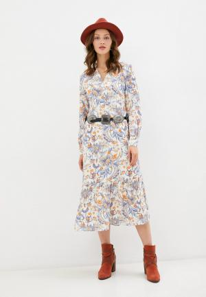 Платье Rich&Royal. Цвет: белый