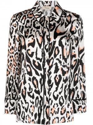 Пижамная рубашка Elpis с принтом Temperley London. Цвет: белый