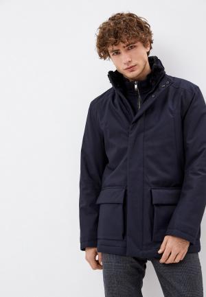 Куртка утепленная Daniel Hechter. Цвет: синий
