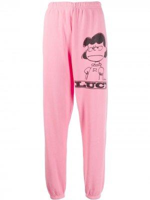 Спортивные брюки Lucy Marc Jacobs. Цвет: розовый