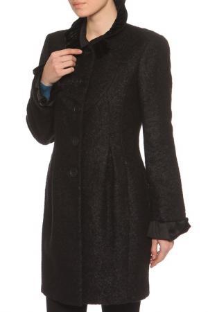 Пальто Roccobarocco. Цвет: черный