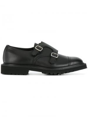 Туфли монки Rufus Trickers. Цвет: черный