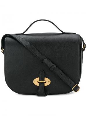 Flip lock shoulder bag Mulberry. Цвет: черный