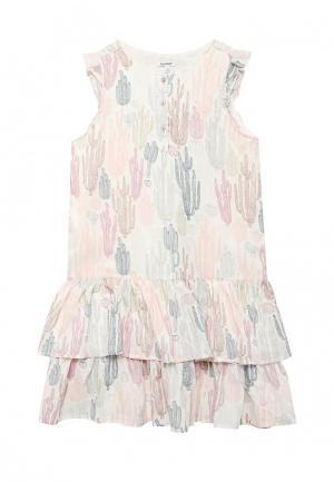 Платье 3 Pommes. Цвет: разноцветный
