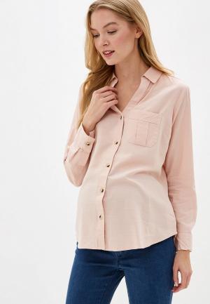 Блуза Dorothy Perkins Maternity. Цвет: розовый