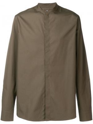 Mandarin neck shirt Qasimi. Цвет: зеленый