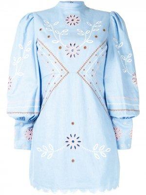 Платье мини Heavenly Creatures Alice McCall. Цвет: синий