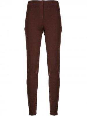 Прямые брюки Joseph. Цвет: красный