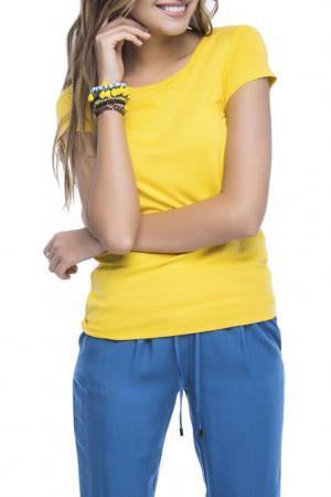 Джемпер CONTE ELEGANT. Цвет: желтый