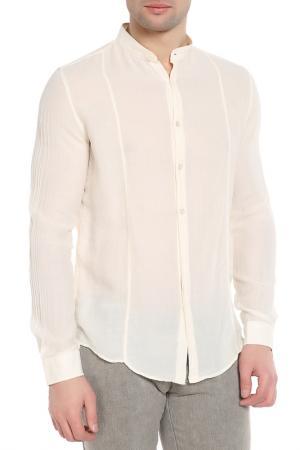 Рубашка CNC Costume National C'N'C. Цвет: бежевый