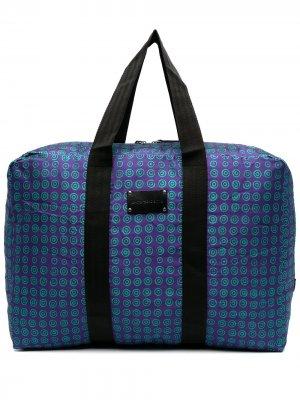 Дорожная сумка с геометричным принтом 10 CORSO COMO. Цвет: фиолетовый