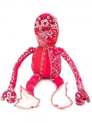 Мягкая игрушка Kermit с принтом Readymade. Цвет: красный