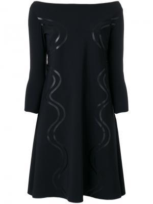 Платье Frida Chiara Boni La Petite Robe. Цвет: черный