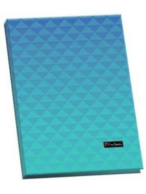 Папка-каталог 40листов Geometrie Blue. Pierre Cardin. Цвет: голубой