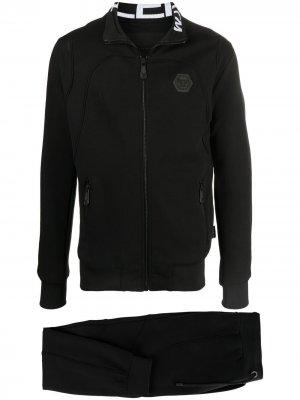 Спортивный костюм с нашивкой-логотипом Philipp Plein. Цвет: черный