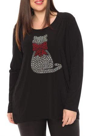 Блуза Leshar. Цвет: черный