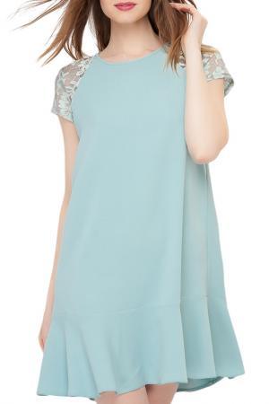 Платье Limonti. Цвет: голубой