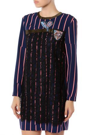 Платье SPORTMAX. Цвет: мультицвет