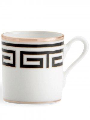 Набор Labirinto из двух чашек для эспрессо GINORI 1735. Цвет: черный