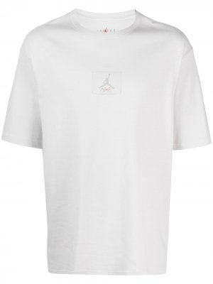 Футболка с нашивкой-логотипом Jordan. Цвет: белый