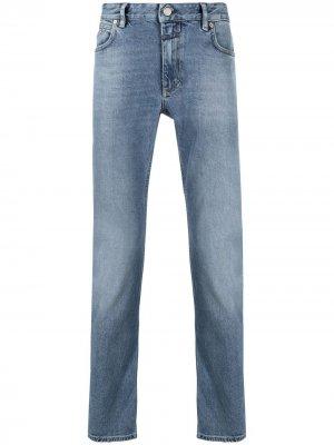 Прямые джинсы с пятью карманами Closed. Цвет: синий