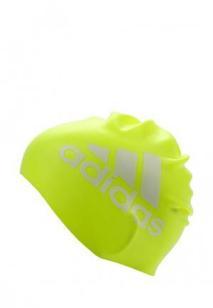 Шапочка для плавания adidas Performance. Цвет: желтый