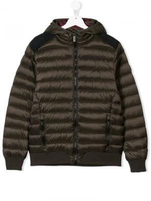 Zipped padded jacket Ciesse Piumini Junior. Цвет: коричневый