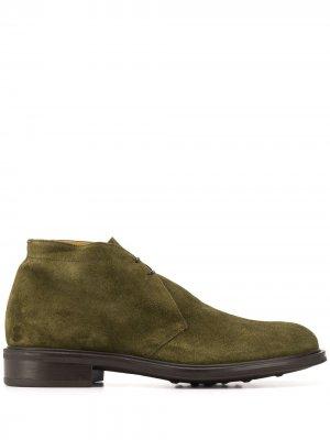 Ботинки дезерты Stevean Scarosso. Цвет: зеленый