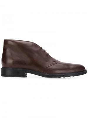 Ботинки дезерты Tod's. Цвет: коричневый