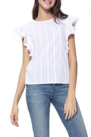 Блузка CONTE ELEGANT. Цвет: белый