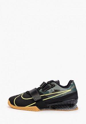 Штангетки Nike. Цвет: хаки