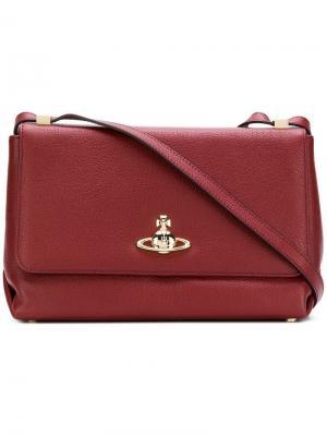 Большая сумка на плечо Balmoral Vivienne Westwood. Цвет: красный