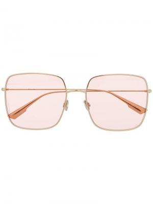 Солнцезащитные очки Dior Stellaire Eyewear. Цвет: золотистый